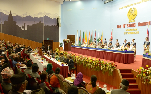 Signing Ceremony AT SAARC