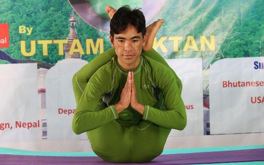 योगासनमा उत्तम मोक्तान